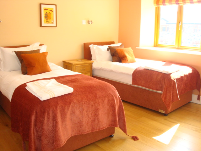 The Barn,Bedroom 2,  Decoy Country Cottages, Luxury self catering accommodation in Meath