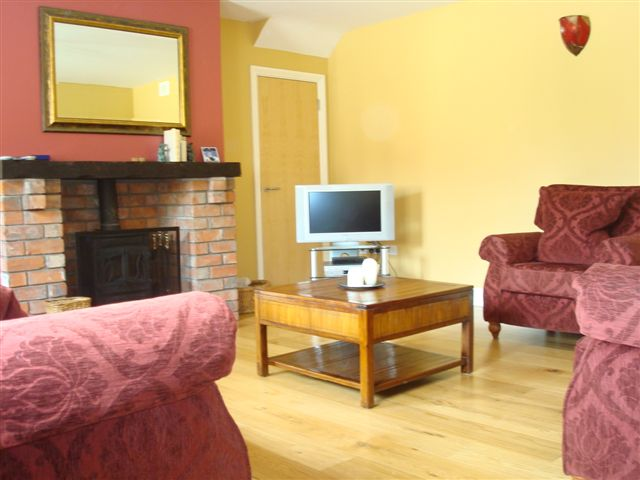 The Barn, living room,  Decoy Country Cottages, Luxury self catering accommodation in Meath