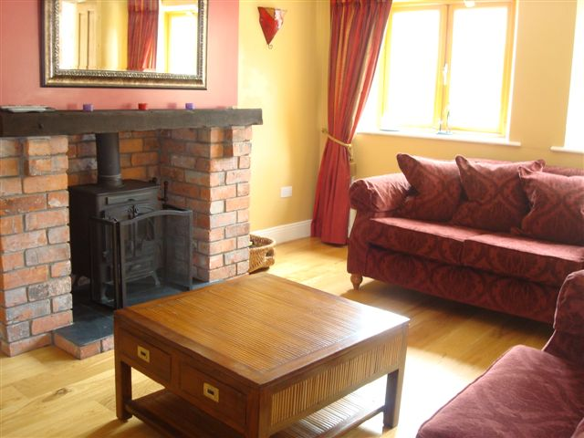 The Coach House, Living room, Decoy Country Cottages, Luxury self catering accommodation in Meath