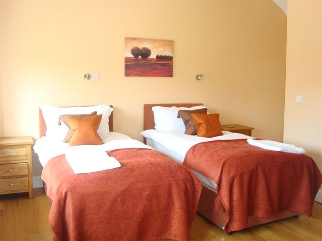The Coach House, Bedroom 2, Decoy Country Cottages, Luxury self catering accommodation in Meath