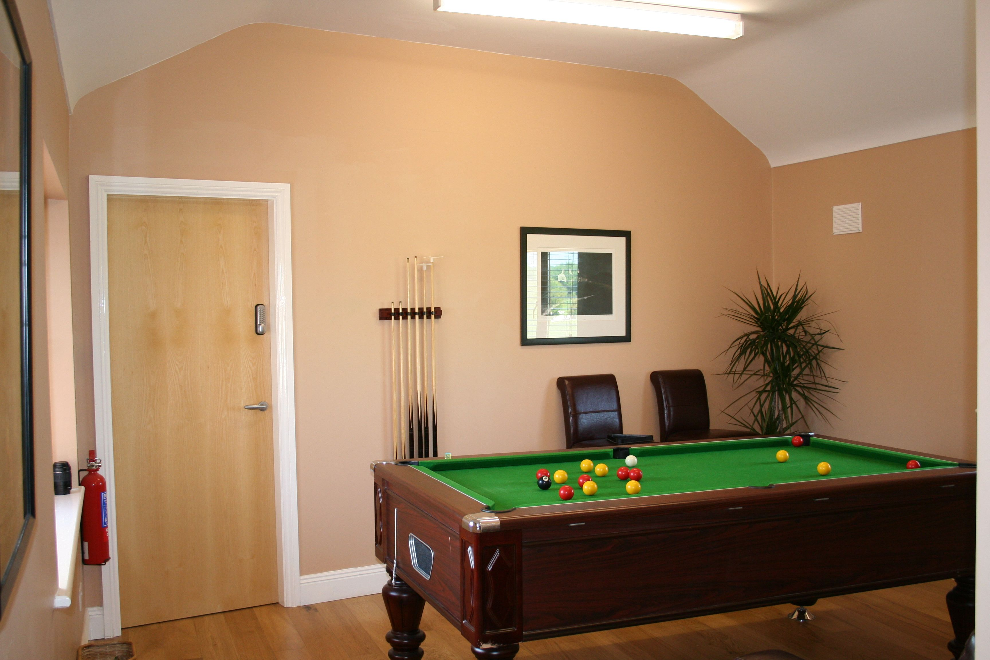 The Den, Pool Table, Decoy Country Cottages, Luxury self catering accommodation in Meath