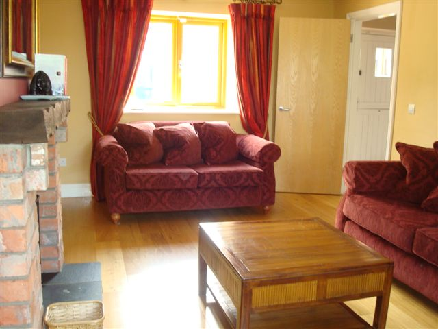The Forge living Room, Decoy Country Cottages, Luxury self catering accommodation in Meath