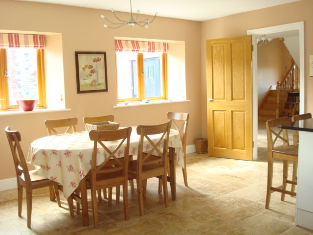 The Parlour, Kitchen,  Decoy Country Cottages, Luxury self catering accommodation in Meath